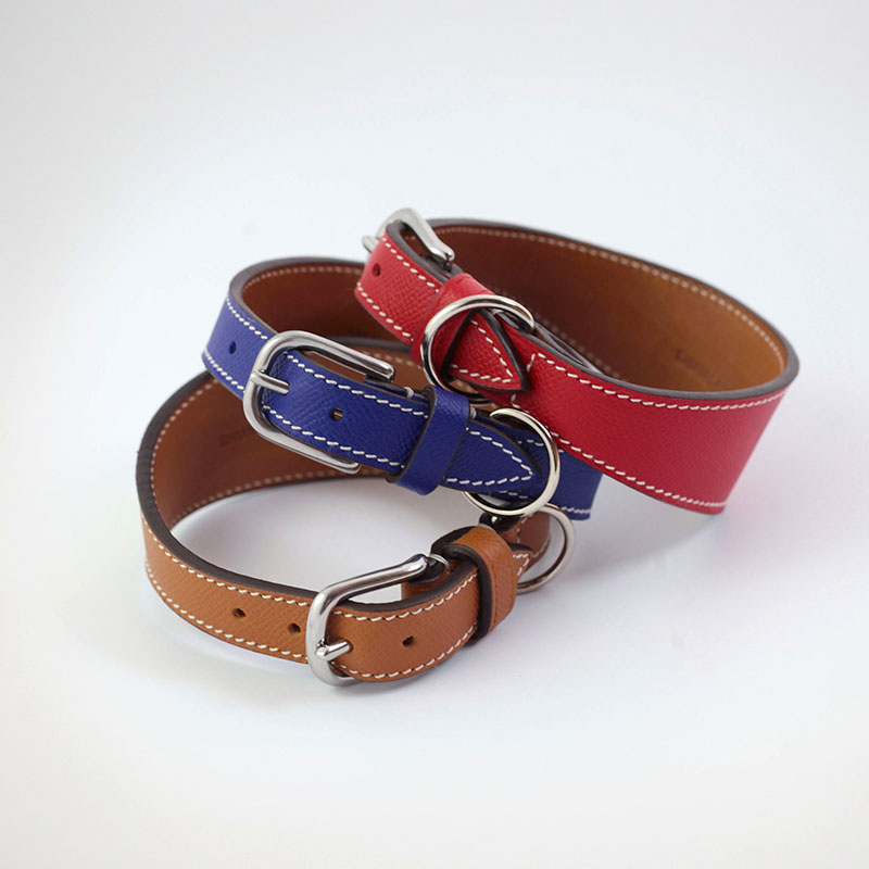 "Whippet/Greyhound collar ""Elegance in Town"" model"