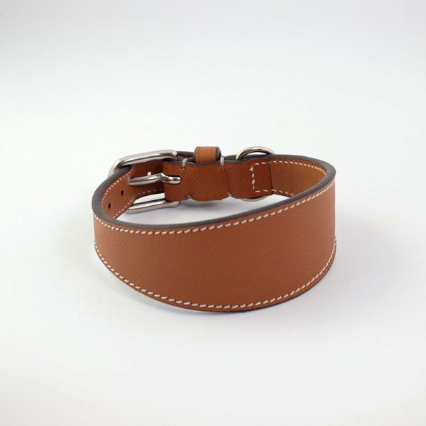 """Whippet/Greyhound collar """"Elegance in Town"""" model"""