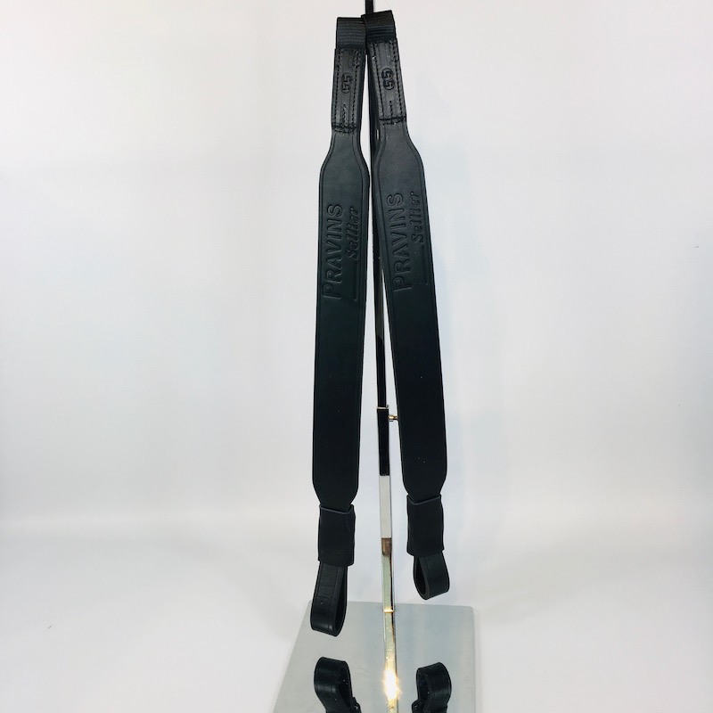 Dressage stirrup leathers