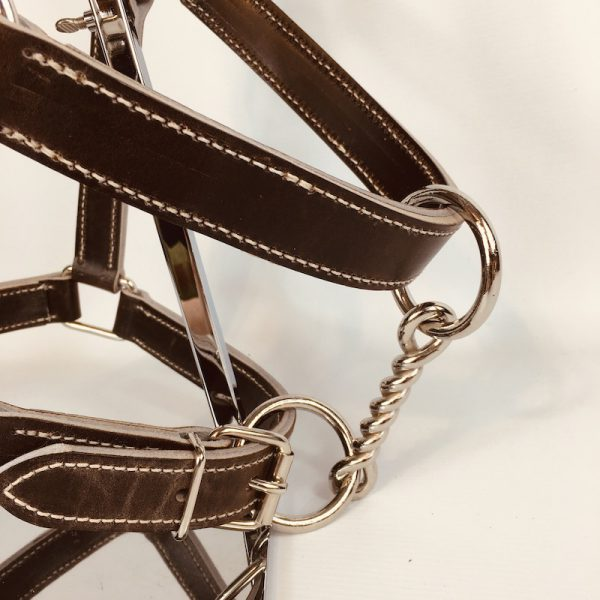 High quality leather halter