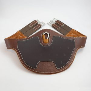 Jumping saddle girth