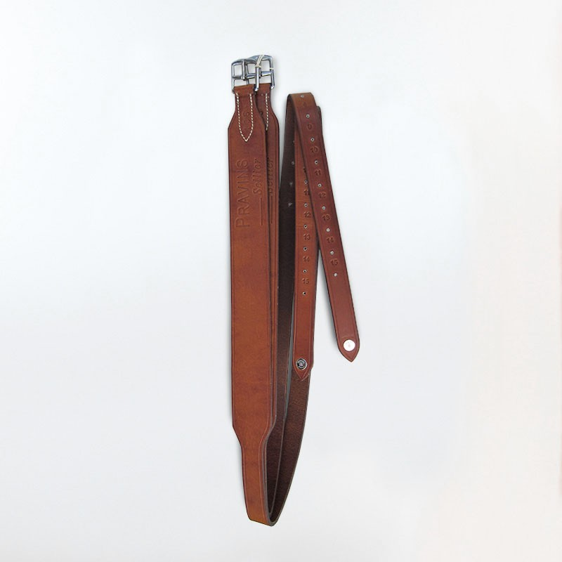 Wide stirrup leather