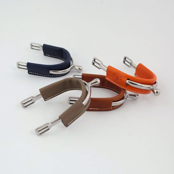 Leather spur covers