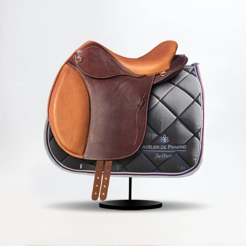 "Rambling and Trekking saddle - Model ""AVENTURE"""